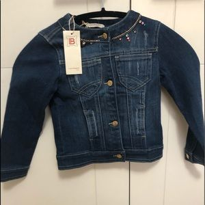 Laura Biagiotti /Toddler Girl 4/NWT/Jean Jacket